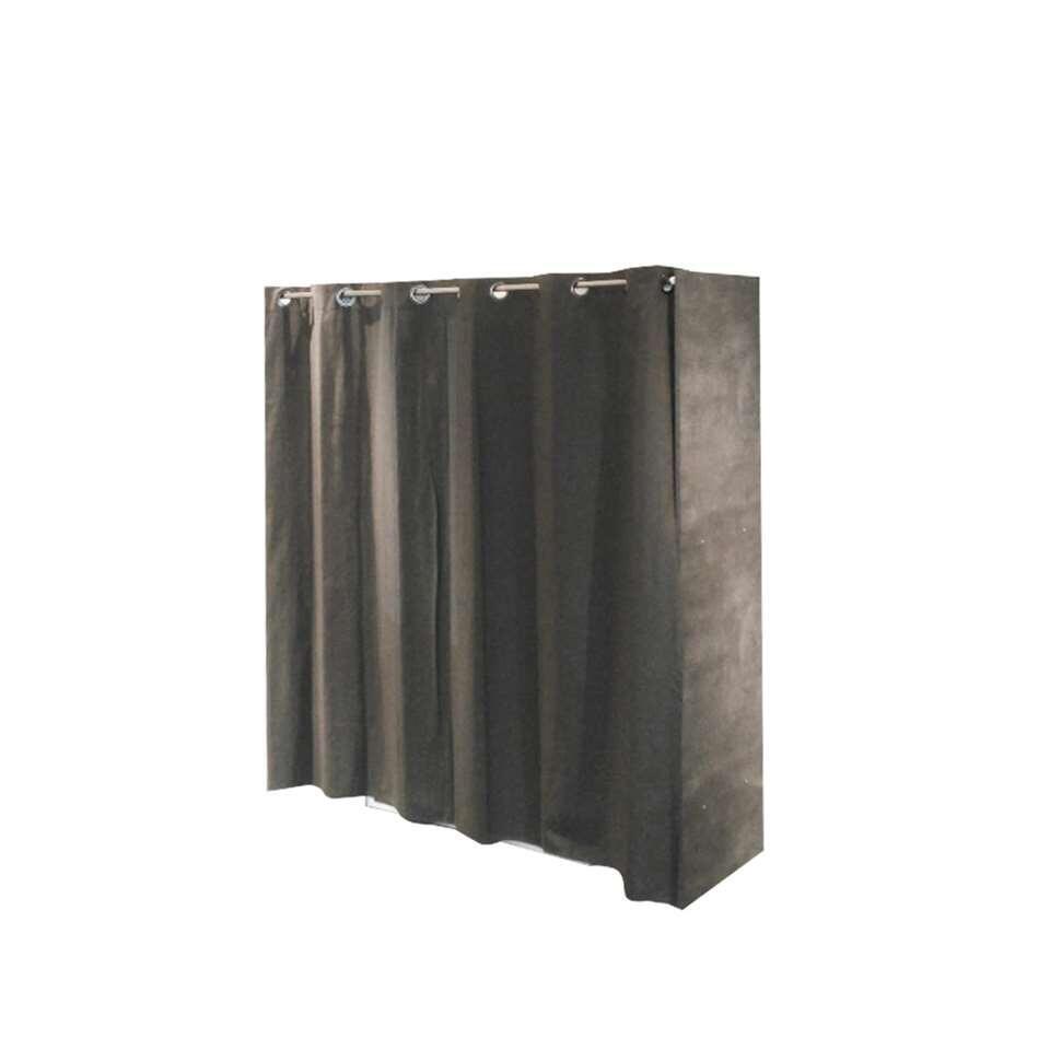 Symbiosis kledingkast rudme donkergrijs betongrijs for Kledingkasten outlet
