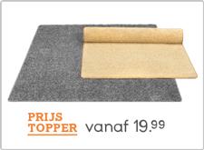 Leen Bakker tapijten Prijstoppers