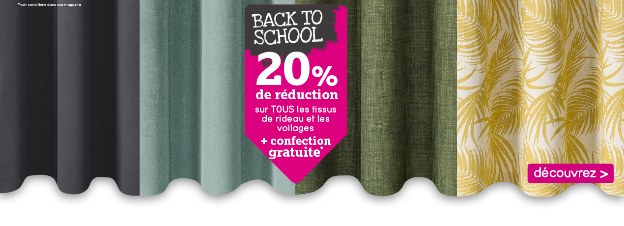 20% réduction