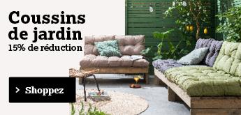 Acheter des coussins de jardin? Commandez ici vos coussins de jardin!