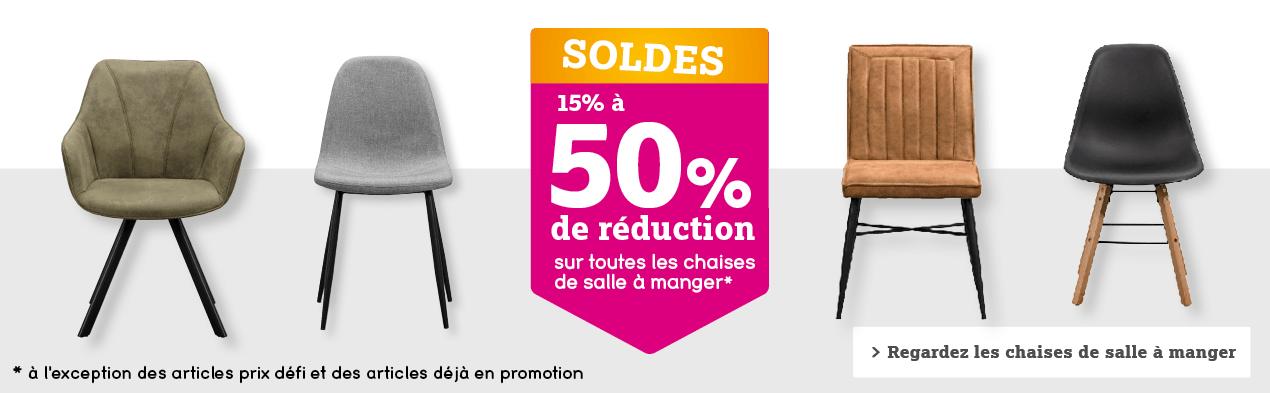 15% à 50% de réduction