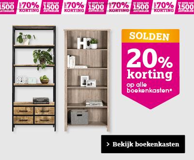 Bekijk boekenkasten