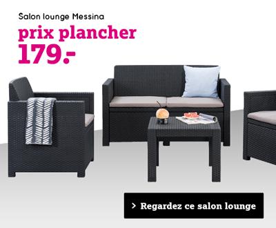 Regardez salon lounge Messina