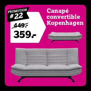 Canape convertible Kopenhagen