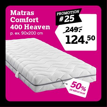 Matelas Comfort 400 Heaven