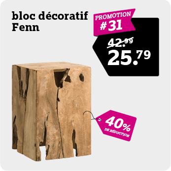 Bloc decoratif Fenn