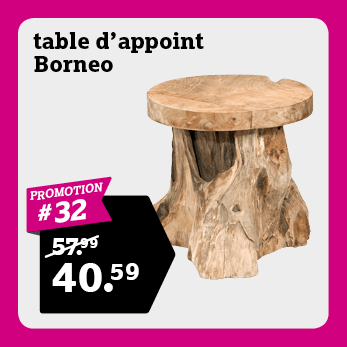 Table d'appoint Borneo