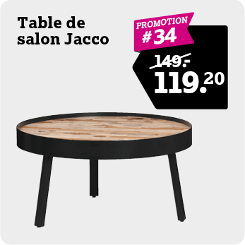 Table de salon Jacco