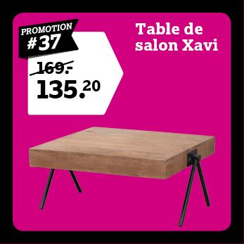 Table de salon Xavi