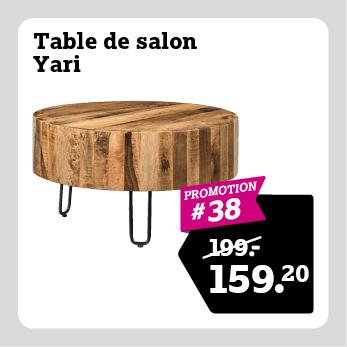 Table de salon Yari