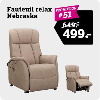 Relaxfauteuil Nebraska