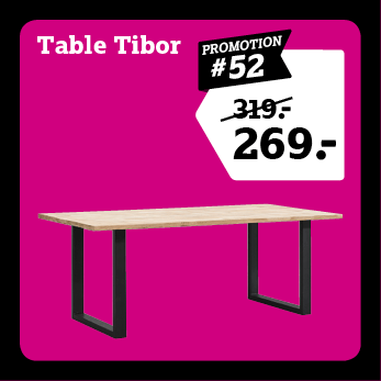 Table de salle Tibor