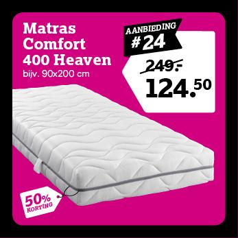 Matras Comfort 400 Heaven