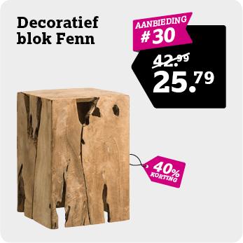 Decoratief blok Fenn
