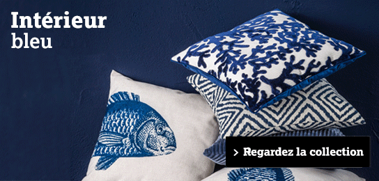 Collection tendance: Interieur blue