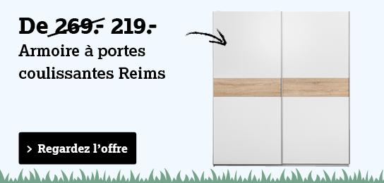 Regardez armoire a portes coulissantes Reims