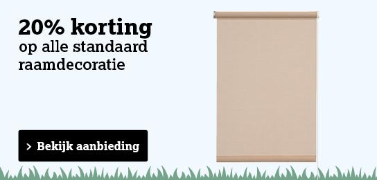 Bekijk standaard raamdecoratie