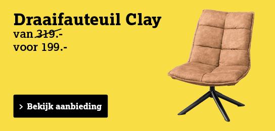 Bekijk draaifauteuil Clay