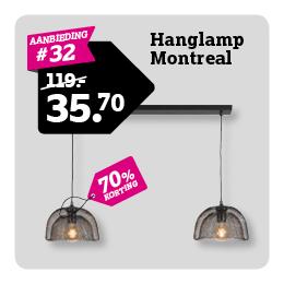 Hanglamp Montreal