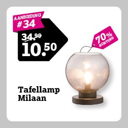 Tafellamp Milaan