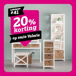 20% korting op serie Valerie