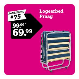 Logeerbed Praag
