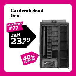Garderobekast Gent