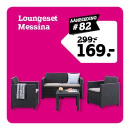 Loungeset Messina