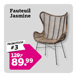Fauteuil Jasmine