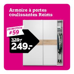 Armoire a portes coulissantes Reims