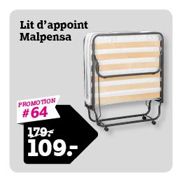 Lit d'appoint Malpensa