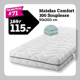Matelas Comfort 300 Souplesse