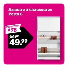 Armoire a chaussures Porto