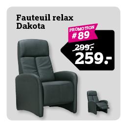 Relaxfauteuil Dakota