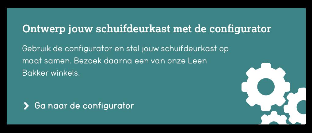 Configurator schuifdeurkast