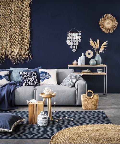 Colletion: intérieur blue