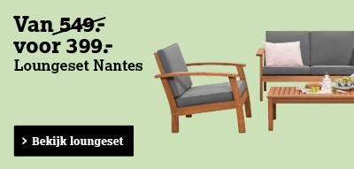 Bekijk loungeset Nantes
