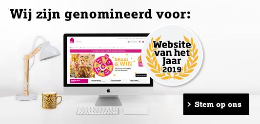 Nominatie website van het jaar