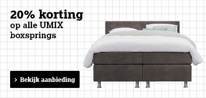 Bekijk UMIX boxsprings