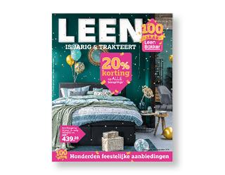 Folder Week 45-46 100 jaar Leen Bakker
