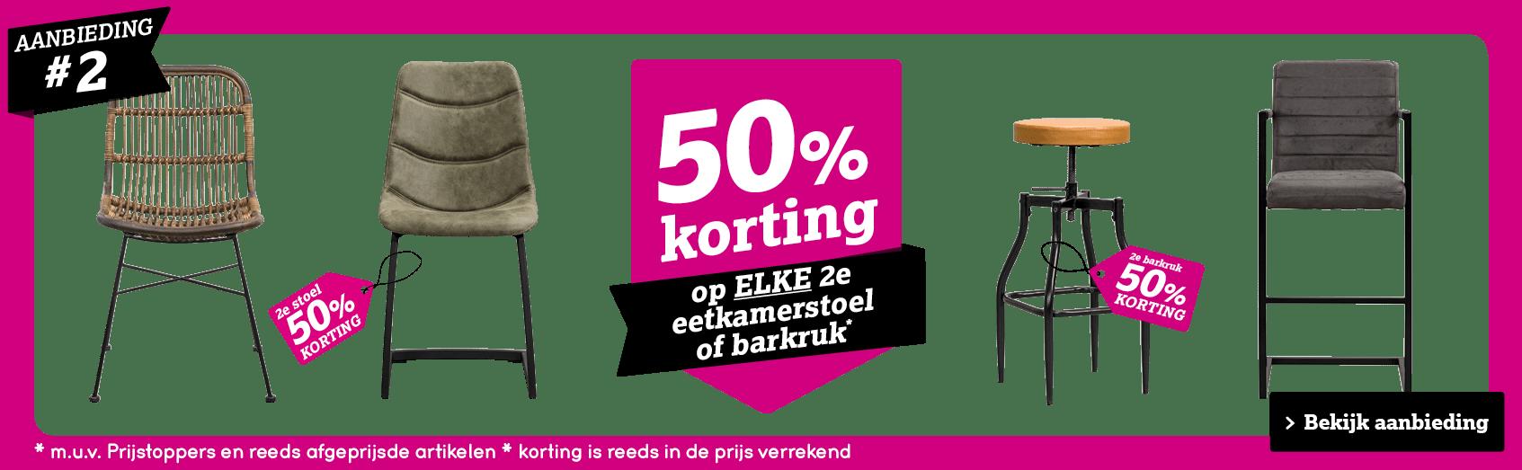 50% korting