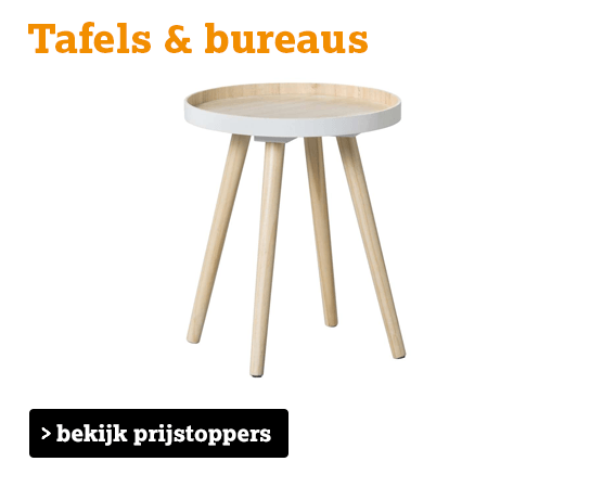 bekijk tafels en bureaus
