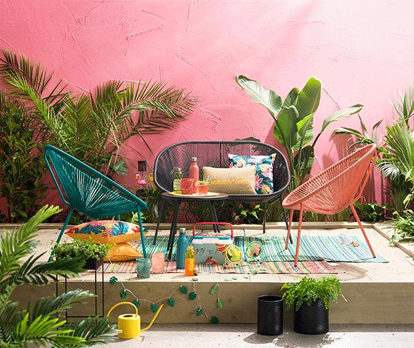Tendance de jardin: tropical