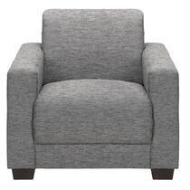 Ne vous trompez pas dans l'esthétique simple du fauteuil gris Aberdeen! Il est confortable et pourvu de différentes possibilités gr1éce au design minimaliste. Combinez et variez en ajoutant un plaid ou un coussin.