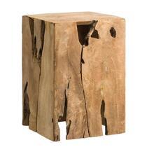 Decoratief blok Fenn - recycled hout - 35x25x25 cm