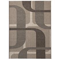 Vloerkleed Kerala is een erg stijlvol vloerkleed. Het tapijt heeft een cirkeldessin in bruintinten. Kerala is te bestellen in meerdere uitvoeringen.