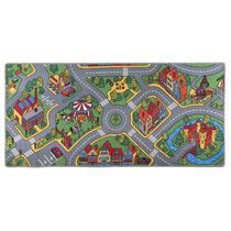 Speelkarpet Ralley geeft je kinderen urenlang speelplezier. Waar je het kleed ook legt! Gemaakt van polyamide met een afmeting van 95x200 cm.
