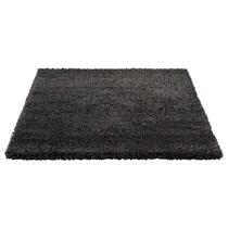 Vloerkleed Luxus is een hoogpolig karpet met een zware kwaliteit. Het tapijt heeft een stoere antraciet kleur en een afmeting van 160x230 cm.