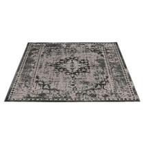 Tapijt Vintage is een groot tapijt met een afmeting van 160x230 cm. Het tapijt is geweven met een authentieke vintagelook in de kleur grijs. Dit mooie tapijt past in vele woonstijlen.