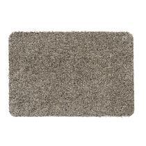 Deurmat Aqua-Luxe is een lichtbeige mat van polyester. De mat heeft een afmeting van 40x60 cm. Deurmat Aqua-Luxe is er in verschillende uitvoeringen, zo is deze mat er ook in de kleur antracietgrijs en in een afmeting van 50x80 cm